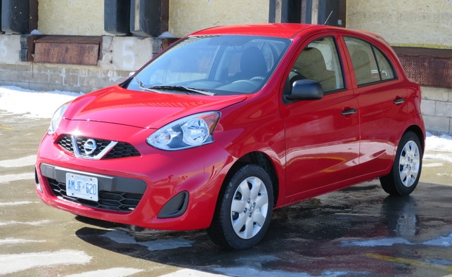 2015 nissan micra review  canada u0026 39 s least expensive car offers up serious value