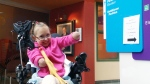 Alyssa Sippley is shown at IWK Health Centre, where she is recovering, in Halifax, N.S. (CTV Atlantic)