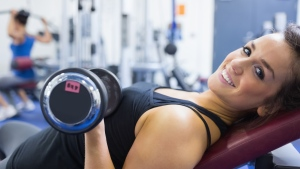 Activate your muscles to the max by benching on an incline of 30 or 45 degrees, suggests a new study. (wavebreakmedia ltd/shutterstock.com)