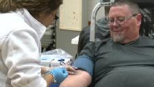 Trevor smith, blood donation