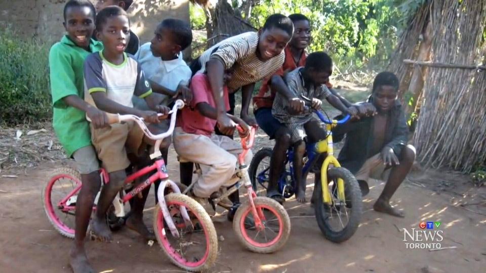 Bikes in Malawi