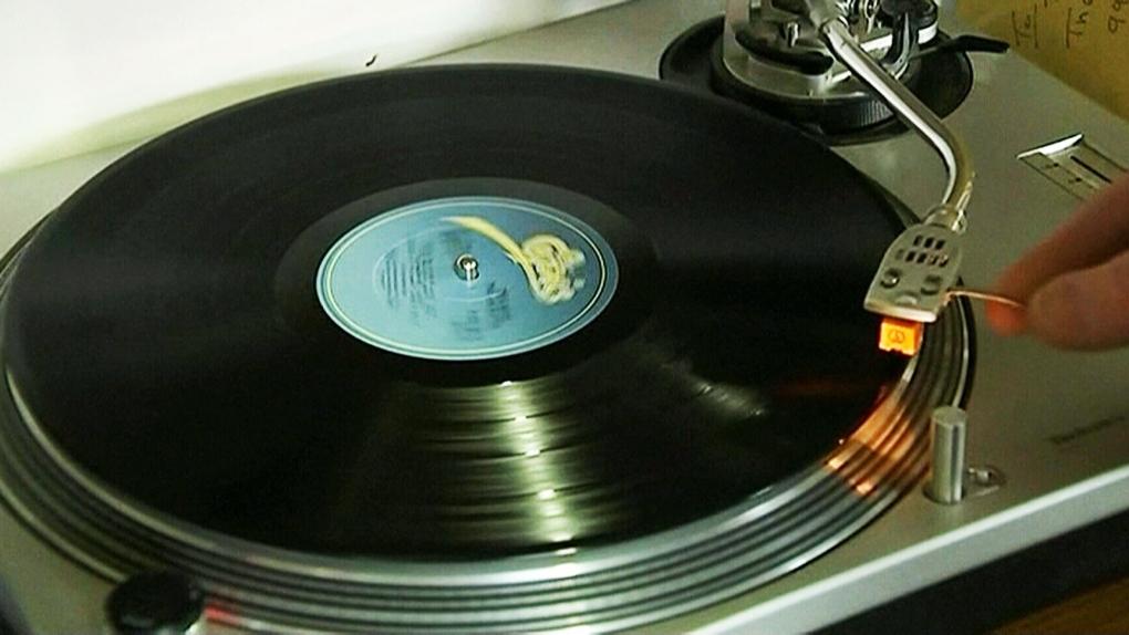 CTV National News:  Vinyl back in business