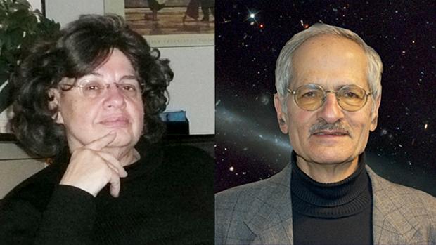 Mars One advisers Raye and James Kass