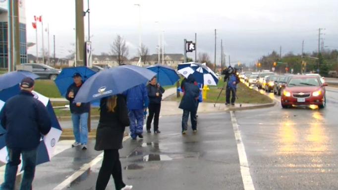 Durham District School Board strike