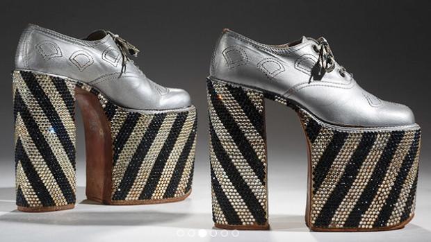 Bata Shoe Museum: Men in heels