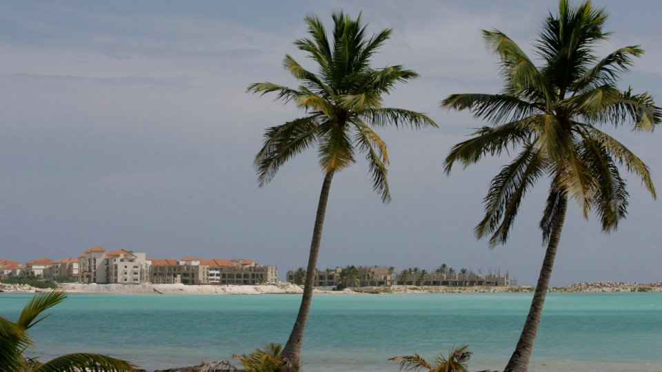 The resort area of Punta Cana, Dominican Republic, is seen in this photo from Nov. 15, 2008. (AP / Kena Betancur)
