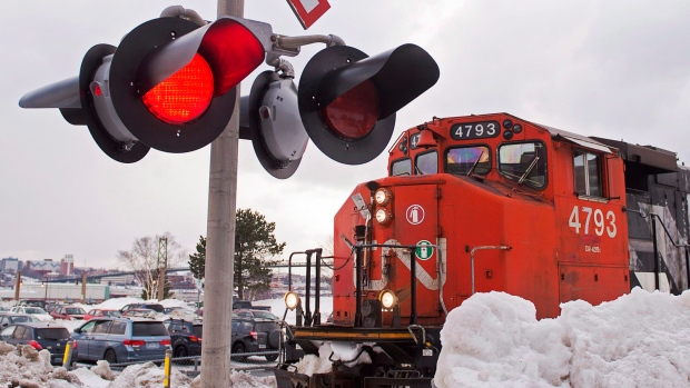 CN Rail in talks to avert strike action by conductors