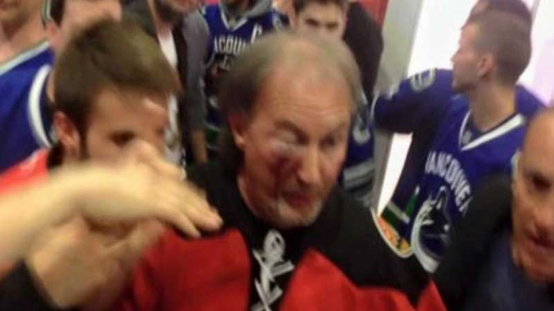 caught on camera fan fight at rogers arena ctv news vancouver