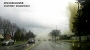 Extended: Viewer dashcam captures blast