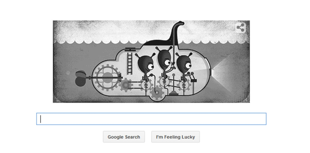 Google launches Loch Ness monster doodle, Street View feature