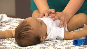 Canada AM: Benefits of baby massage