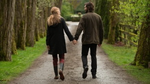 Michiel Huisman, right, and Blake Lively in a scene from Lionsgate's 'The Age of Adaline.' (Diyah Pera / Lionsgate)