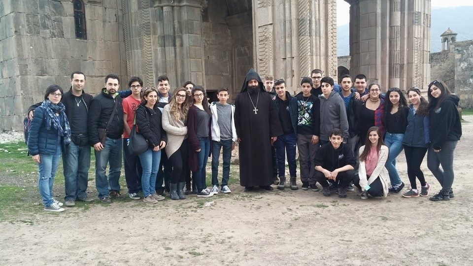 Grade 10 students visit Armenia