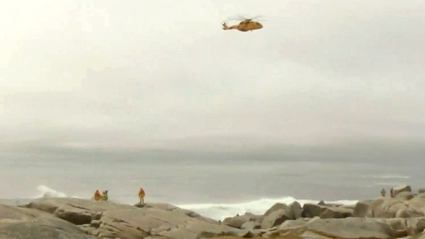 Ontario man swept into atlantic while standing on rocks at for Landscaping rocks windsor ontario