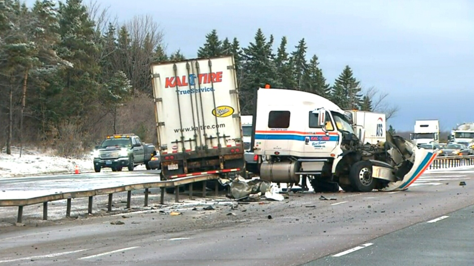 Highway 400 reopens after fatal crash near Barrie | CTV News