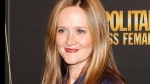 Actress Samantha Bee arrives for the 50 and Fabulous Benefit Gala at the Pierre Hotel Monday, Oct. 18, 2010 in New York. (AP /Jason DeCrow)