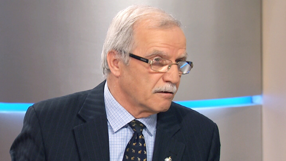 Former Liberal MP Sarkis Assadourian speaks to CTV's Canada AM on April 24, 2015.