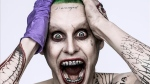 Jared Leto is shown as the Joker in this image from 'Suicide Squad' director David Ayer. (David Ayer / Twitter)