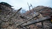 Debris lie at Durbar Square after an earthquake in Kathmandu, Nepal, Saturday, April 25, 2015. (AP /  Niranjan Shrestha)