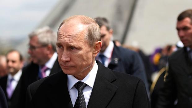 Russian President Vladimir Putin in Armenia