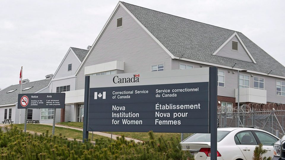 The Nova Institution for Women is seen in Truro, N.S., on May 6, 2014. (THE CANADIAN PRESS / Andrew Vaughan)
