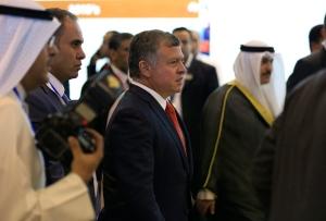 King Abdullah of Jordan in Ottawa on Monday