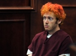 James E. Holmes appears in Arapahoe County District Court in Centennial, Colo., July 23, 2012. (RJ Sangosti / Denver Post)