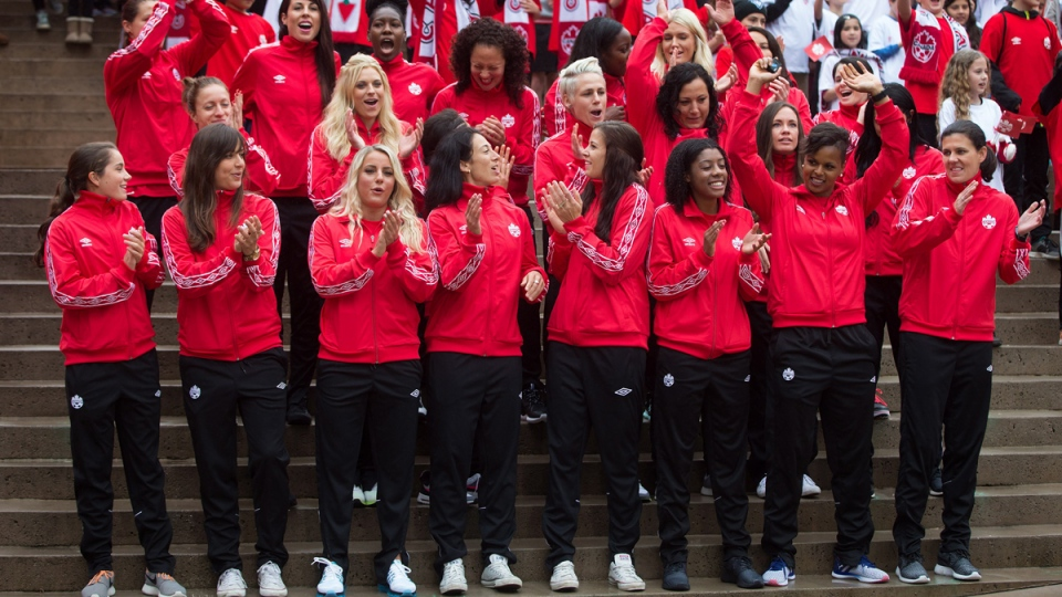 1bfa01ac495 Canadian women's FIFA World Cup team unveiled | CTV News