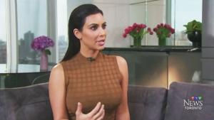 CTV Toronto: Kim's reaction to Jenner's interview