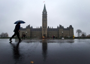 Parliament Hill is seen in Ottawa on October 31, 2013. (Sean Kilpatrick / THE CANADIAN PRESS)