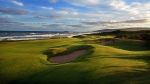 This 2013 photo shows the Cabot Links golf course in Inverness, Nova Scotia, Canada, along the Gulf of St. Lawrence. (Dave Scaletti/Cabot Links via AP)