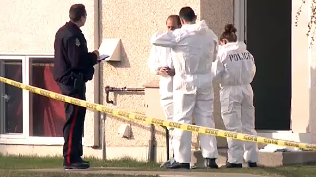Police say the deaths of three people inside a home in the west end of Lethbridge on April 28, 2015, were all the result of a homicide.
