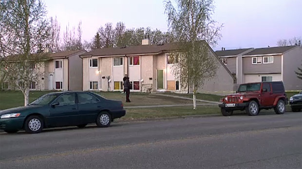 Lethbridge Regional Police investigate a triple homicide in the Varsity Village neighbourhood.