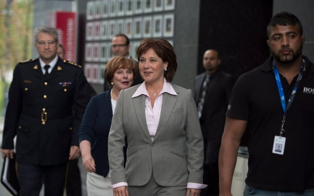 Christy Clark on gang violence