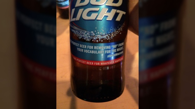 Bud Light says it missed the mark with slogan that removes 'no' from