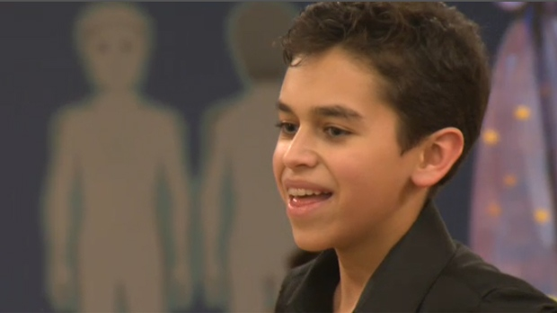 13-year-old Cameron Sparling dreams of a career in Irish dance