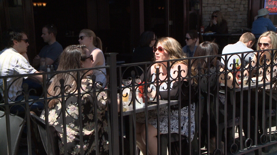 Some patios that were part of a pilot project in 2013 are staying put after being given the green light by Ottawa City Council on April 29, 2015.