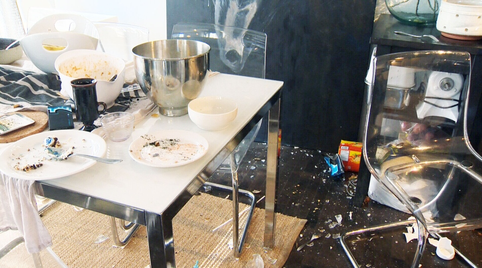Calgary police say that at least $50,000 to $75,000 worth of damage was done to a home after it was rented out to tenants using Airbnb over the weekend.