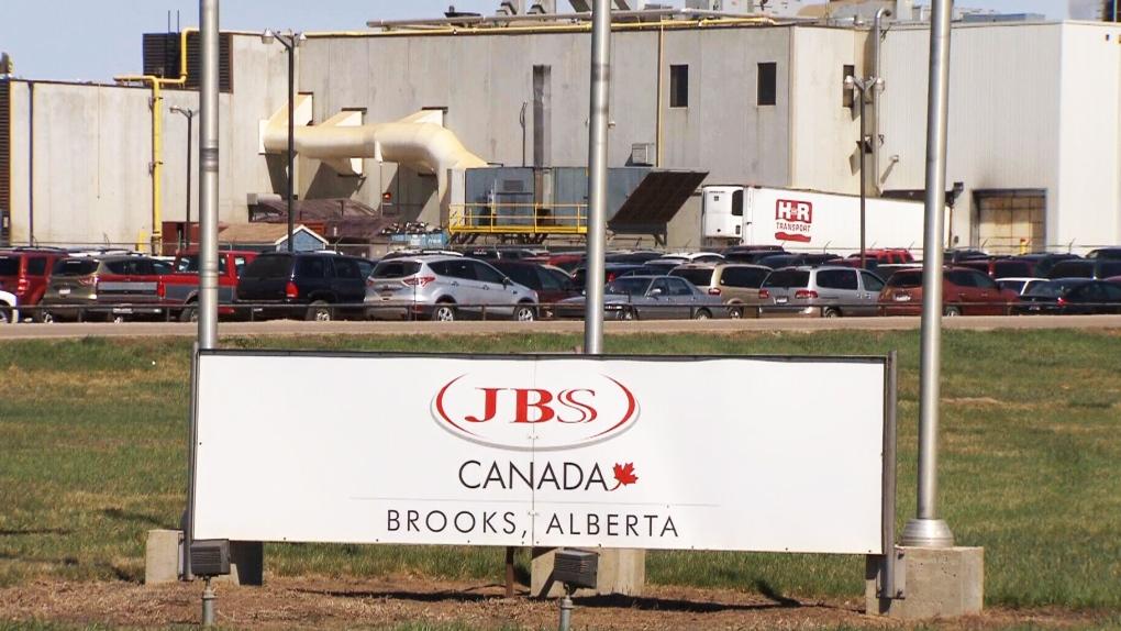 JBS Canada beef processing plant