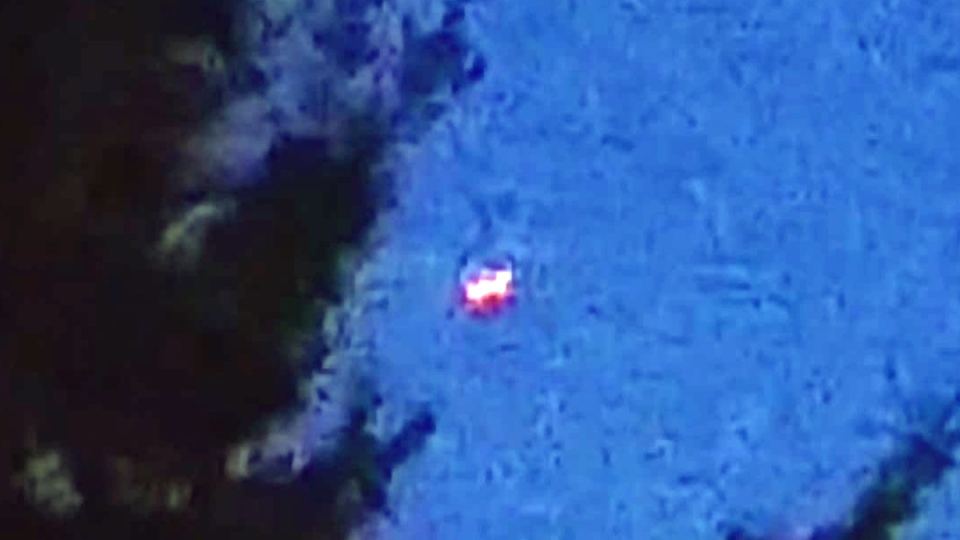 A UFO was reported in Esquimalt, B.C. in connection with this undated photograph.