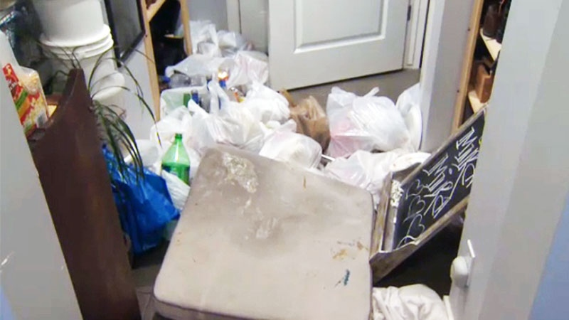 Renters agreed to leave the home at the King family's request on Monday morning. Between 15 and 20 people were inside the building at 'checkout.'