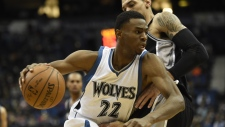 Minnesota Timberwolves forward Andrew Wiggins