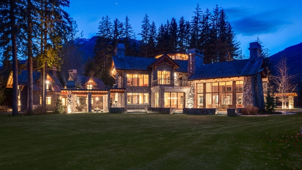 <b>Resort mansion for sale in Whistler, B.C.</b>