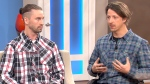 Mike Shaw and Josh Dueck speak to CTV's Canada AM on May 1, 2015.