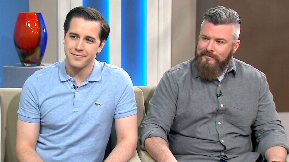 Mark Henick and Mike Richey appear on CTV's Canada AM on Friday, May 1, 2015.