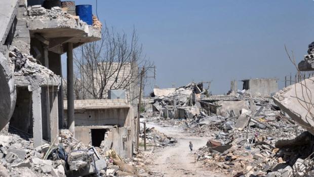 Kobani a ghost town