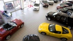 Cars are for sale in North Vancouver, B.C., on May 20, 2009. (THE CANADIAN PRESS/Jonathan Hayward)