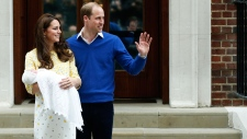 Will and Kate leave hospital