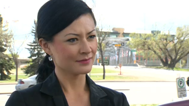 Breanna Palmer, ex-wife of former Alberta Justice Minister Jonathan Denis, alleges he abused her.