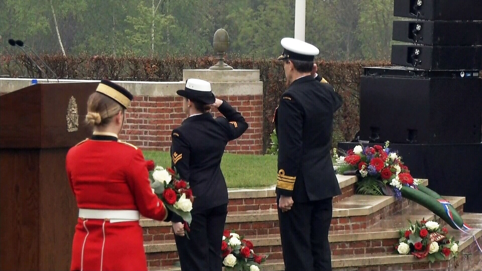 A ceremony honoured the more than 7,600 Canadian soldiers who died in the fight to liberate the Dutch from Nazi occupation at the Groesbeek Canadian War Cemetery in the Netherlands on May 3, 2015.
